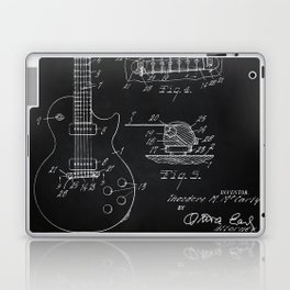 Gibson Guitar Patent Les Paul Vintage Guitar Diagram Laptop & iPad Skin