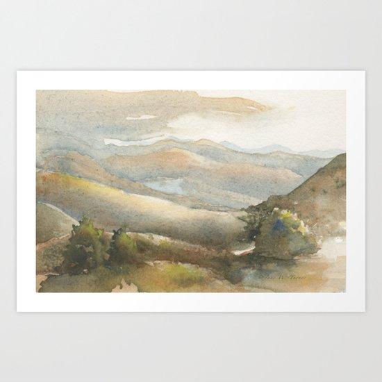 Berrenda Morning Art Print