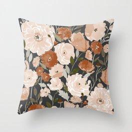 Indy Bloom Copper Poppy Garden Throw Pillow