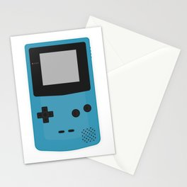 Gameboy Colour Blue Stationery Cards