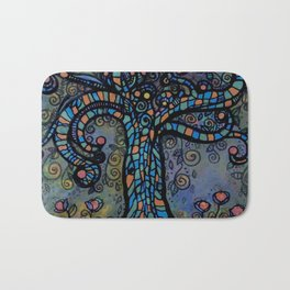 Twisty Tree Bath Mat