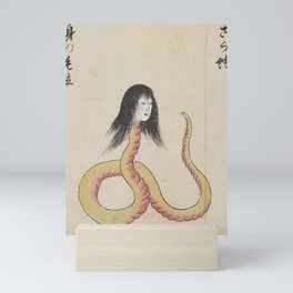 SARA HEBI / SNAKE WOMAN - ARTIST UNKNOWN Mini Art Print
