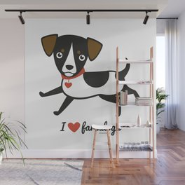 I love farmdogs Wall Mural