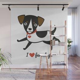 I love farmdogs Wall Mural