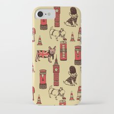 London Frenchies iPhone 8 Slim Case