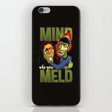 Mind Who you Meld iPhone & iPod Skin