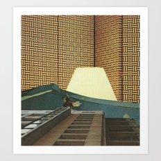 Lamplighters Art Print