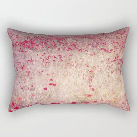Fields of poppies Rectangular Pillow