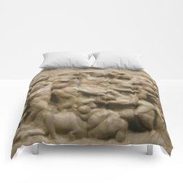 "Michelangelo ""Battle of the Centaurs"" Comforters"