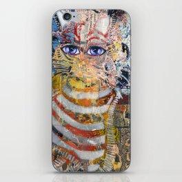 Enchanted Feline and Mona iPhone Skin