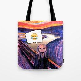 LOL Scream Tote Bag