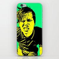 blink 182 iPhone & iPod Skins featuring Tom Delonge (Blink-182) by Blake Lee Ferguson