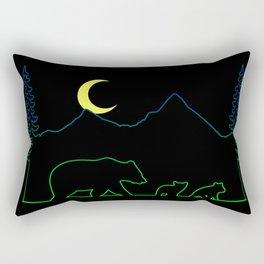 Bear Line Rectangular Pillow