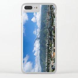 El Ávila Vertical Panorama Clear iPhone Case