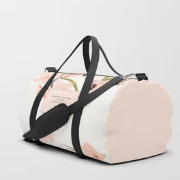 You must allow me...Mr. Darcy. Pride and Prejudice. Duffle Bag