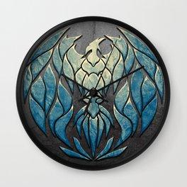 Cryo Phoenix Wall Clock