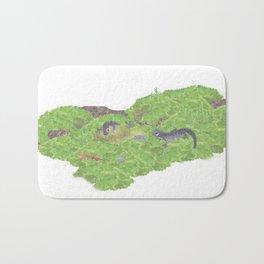 Journey of Tohoku salamanders | Miharu Shirahata Bath Mat
