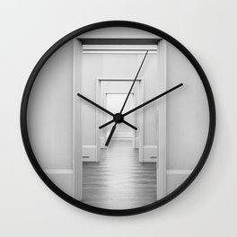 Doors Minimal Interior Wall Clock