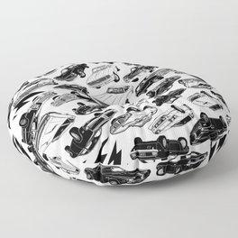 MUSCLE CAR MANIA II Floor Pillow