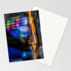 A colorful town Stationery Cards