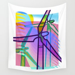The Wind Mills Wall Tapestry