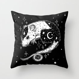 the Witch's Companion Throw Pillow