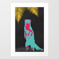 Mongoose Art Print