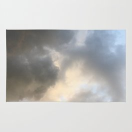 Watercolor Clouds Rug