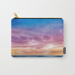Rainbow Clouds Carry-All Pouch