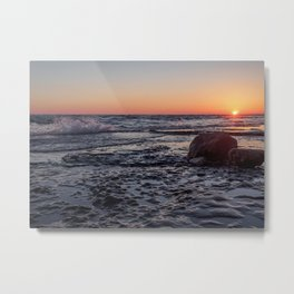Sandbanks Sunset #2 Metal Print
