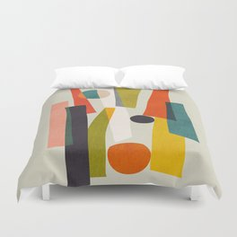 Sticks and Stones Duvet Cover