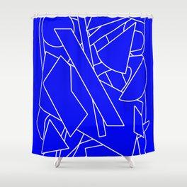 BluE humble Shower Curtain