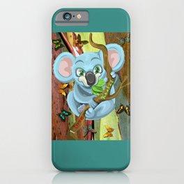 I Love Koalas iPhone Case