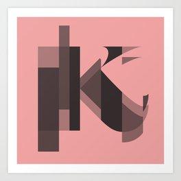 synthesis — k Art Print