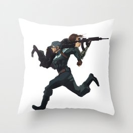 Dammit Steve Throw Pillow