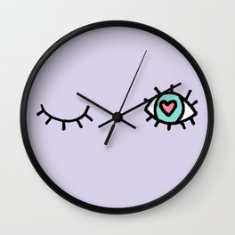 Psychic Love Inspector Wall Clock