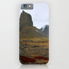 Red of the Fire Land iPhone Case