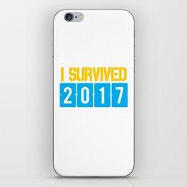 I survived 2017 iPhone Skin
