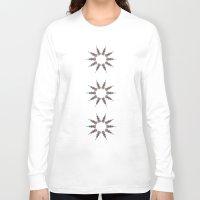 chakra Long Sleeve T-shirts featuring Chakra by RaJess