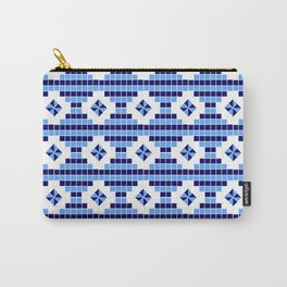 optical pattern 73 square and rhombus Carry-All Pouch