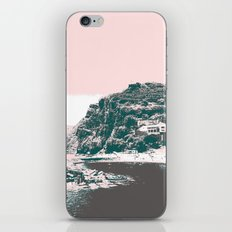 village by the sea. iPhone Skin