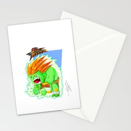 STREET FIGHTER - BLANCA Stationery Cards