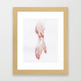 Got a Hold on Me Framed Art Print