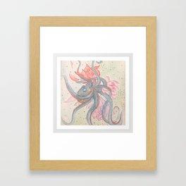 Colorful Entanglement Framed Art Print