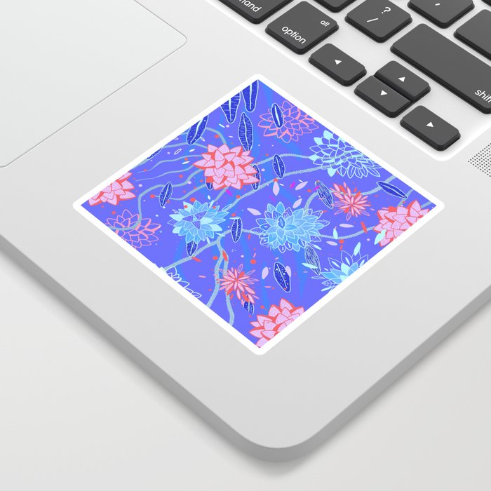 Heroinax Freaky Flowers Sticker