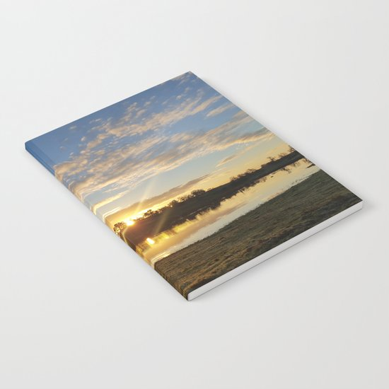 Inbetween Country and Paradise Notebook