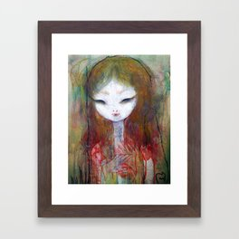 Bloom Eye Framed Art Print
