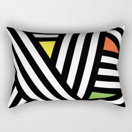 Timo Abstract Pattern #1 Rectangular Pillow