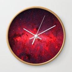 Unidentified Nebula Wall Clock