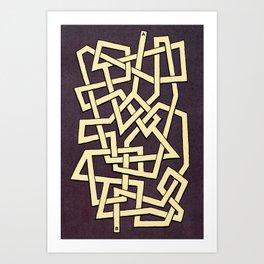 Maze 78 Art Print